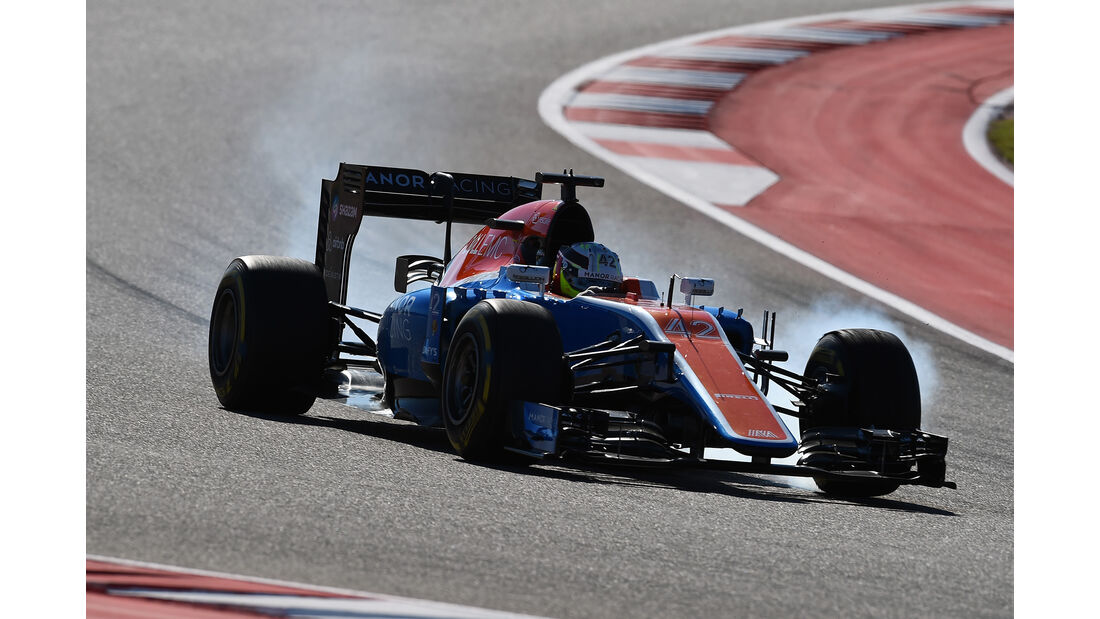 Jordan King - Manor - Formel 1 - GP USA - Austin - 21. Oktober 2016