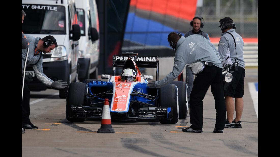 Jordan King - Manor - Formel 1 - Silverstone-Test - 13. Juli 2016