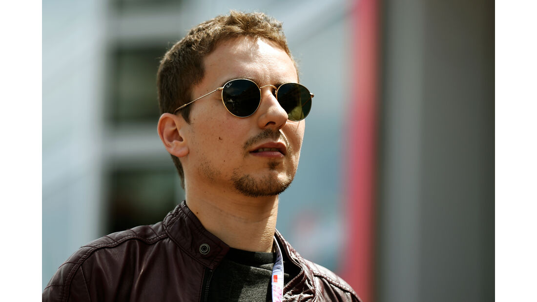 Jorge Lorenzo - Formel 1 - GP Monaco - 27. Mai 2016