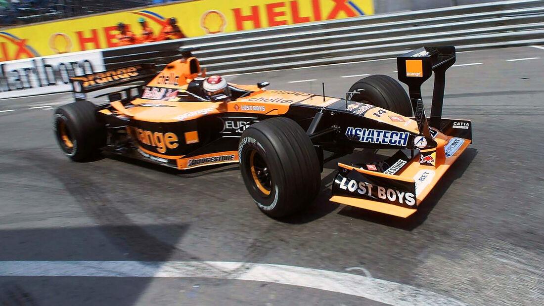Jos Verstappen - Arrows A22 - GP Monaco 2001