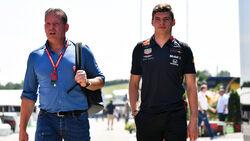 Jos Verstappen - Max Verstappen - GP Ungarn 2019 - Budapest