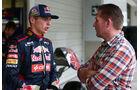 Jos und Max Verstappen - GP Japan 2014
