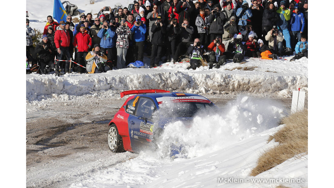 Jose Suarez - Rallye Monte Carlo 2016