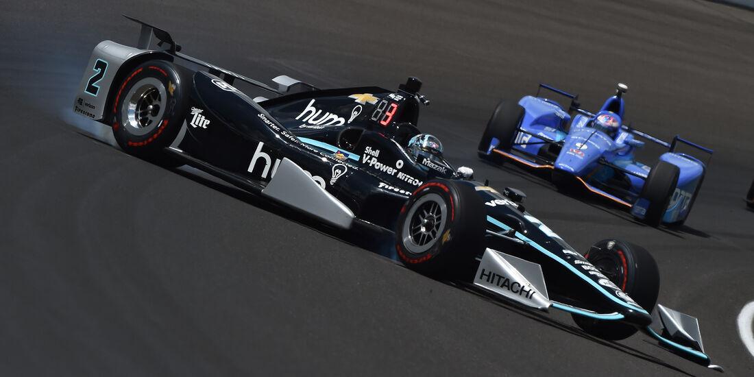 Josef Newgarden - IndyCar-Crash