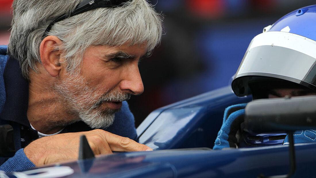 Rennfahrer Damon Hill