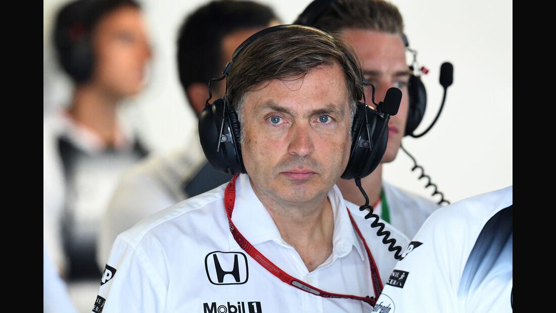 Jost Capito - McLaren - Formel 1 - 2016
