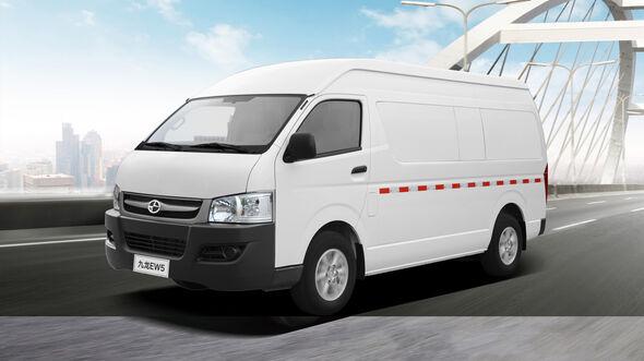 Joylong EF5 EW5 Van Siebensitzer Nutzfahrzeug Elektroauto China Lada Import