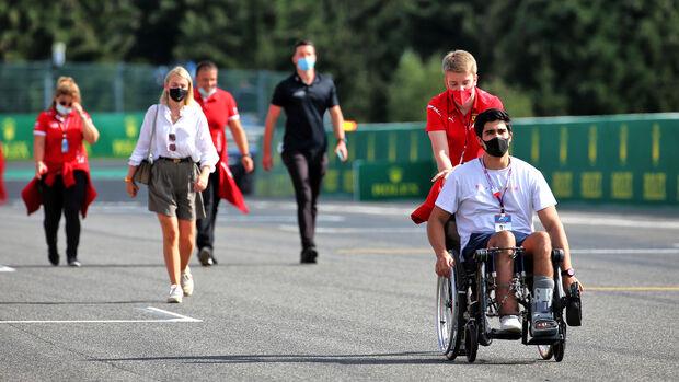 Juan Manuel Correa - Formel 1 - GP Belgien - Spa-Francorchamps - Donnerstag - 27. August 2020
