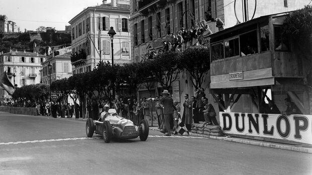 Juan Manuel Fangio - Alfa Romeo 158 - GP Monaco 1950
