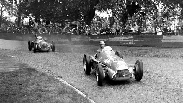 Juan Manuel Fangio - Bremgarten - Grand Prix der Schweiz 1951 - Formel 1