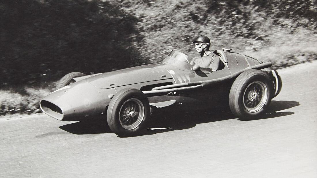 Juan Manuel Fangio - GP Deutschland 1957 - Maserati 250 F