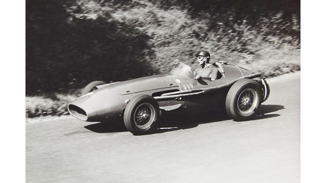 Juan Manuel Fangio - Maserati 250F - GP Deutschland 1957 - Nürburgring
