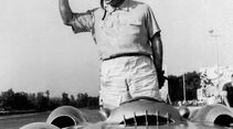Juan Manuel Fangio - Mercedes W 196 R - Monza 1954