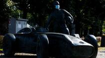 Juan Manuel Fangio - Statue - Formel 1 - GP Italien - Monza - Donnerstag - 3. September 2020