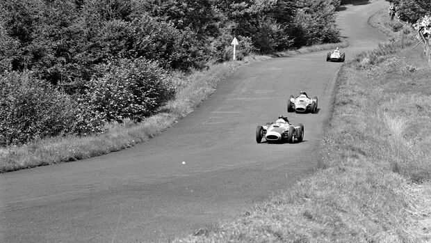 Juan Manuel Fangio - Stirling Moss - Peter Collins - GP Deutschland 1956