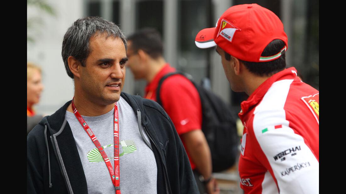 Juan-Pablo Montoya - Formel 1 - GP Mexiko - 31. Oktober 2015