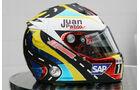 Juan-Pablo Montoya - Formel 1-Spezialhelme