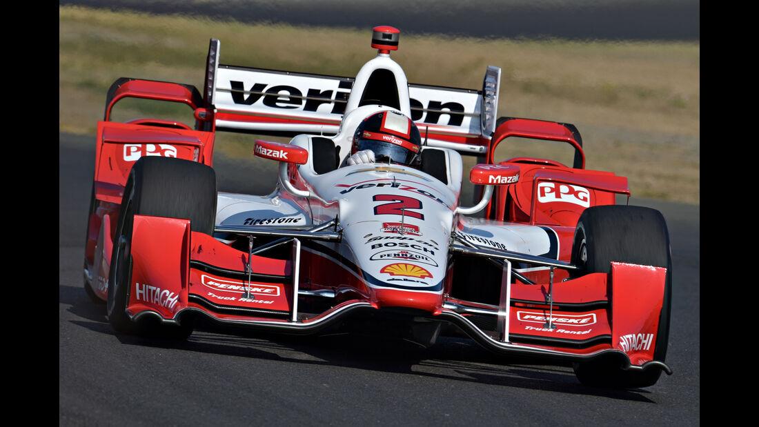 Juan Pablo Montoya - IndyCar - Sonoma - 2015