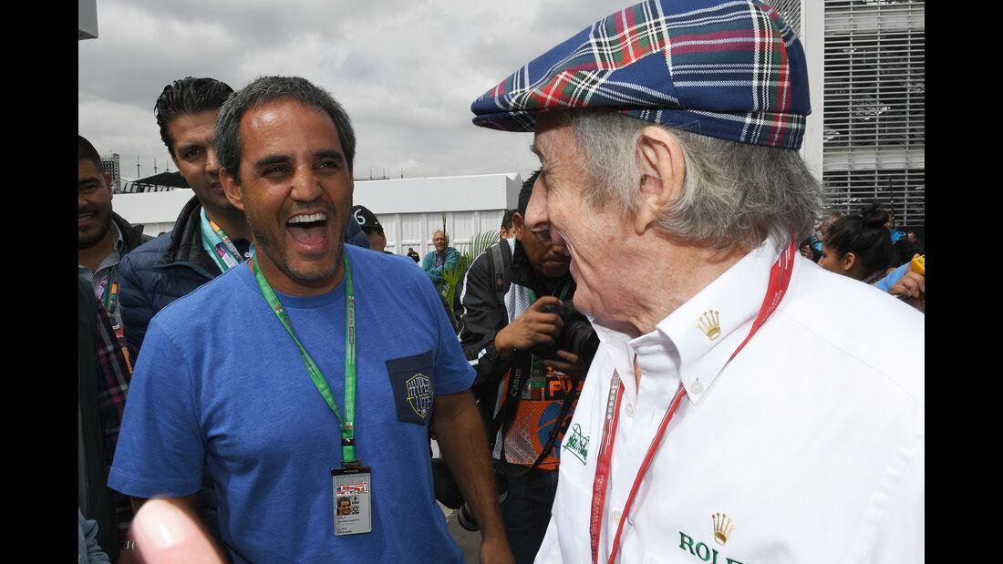 Juan-Pablo Montoya & Jackie Stewart - Formel 1 - GP Mexiko - 28. Oktober 2016