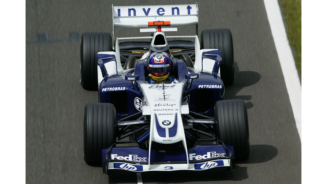 Juan Pablo Montoya, Williams-BMW FW26