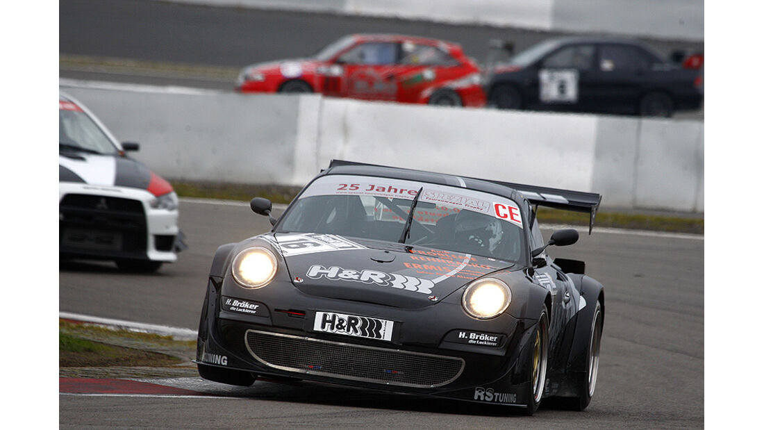 Jürgen Alzen/Gerald Schalk, Gesamtdritte 2010, Porsche 997 Turbo mit etwa 700 PS
