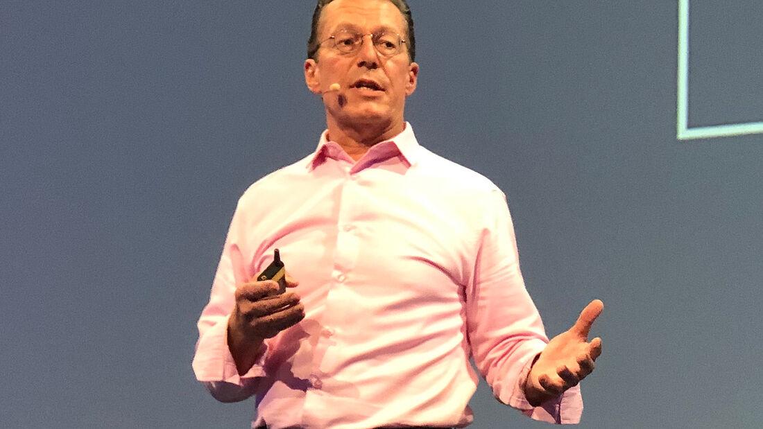 Juice-CEO Christoph Erni