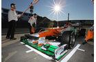 Jules Bianchi - Force India - F1-Test Jerez 2012