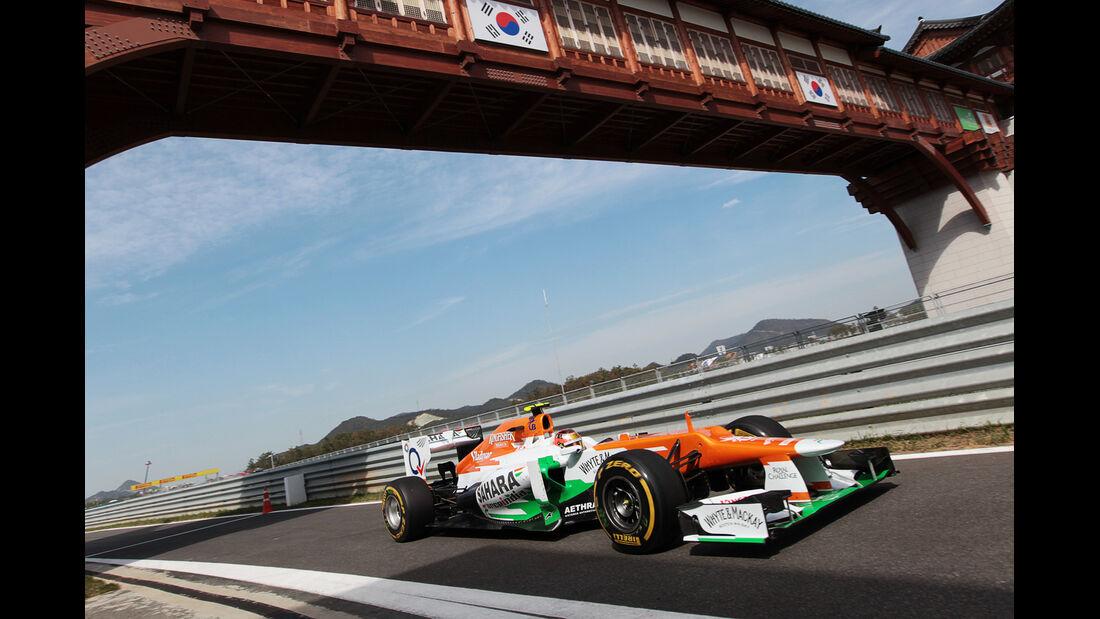 Jules Bianchi - Force India - Formel 1 - GP Korea - 12. Oktober 2012