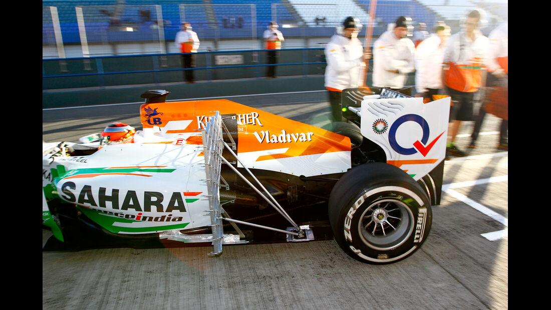 Jules Bianchi - Force India - Formel 1 - Test - Jerez - 8. Februar 2013
