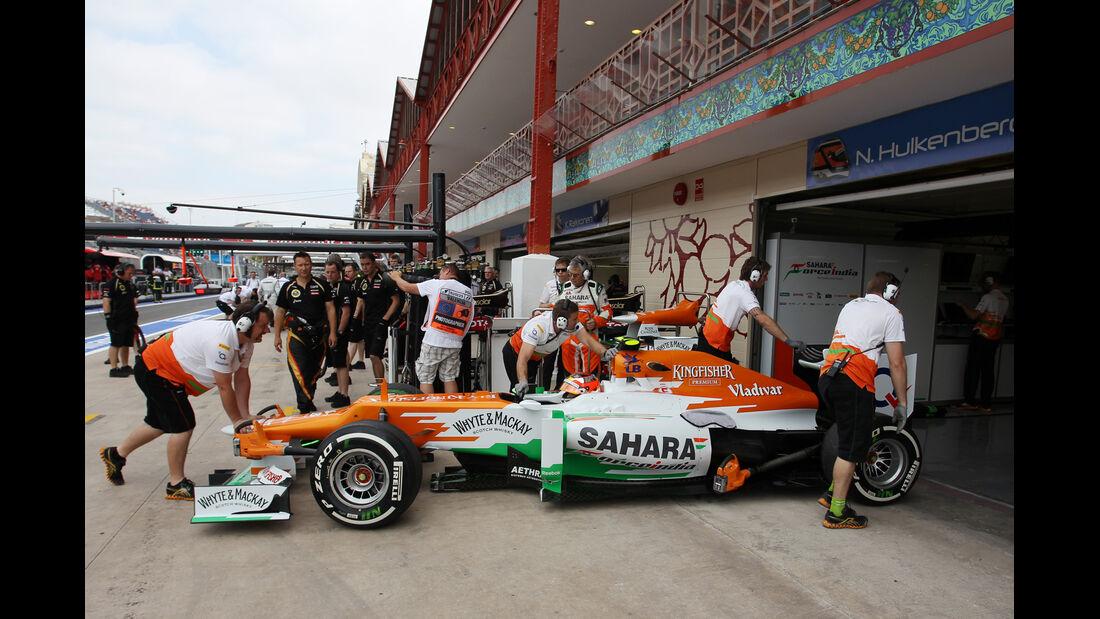 Jules Bianchi - Force India - GP Europa - Formel 1 - Valencia - 22. Juni 2012
