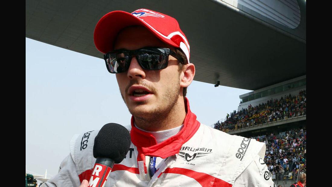 Jules Bianchi Formel 1 GP China 2013