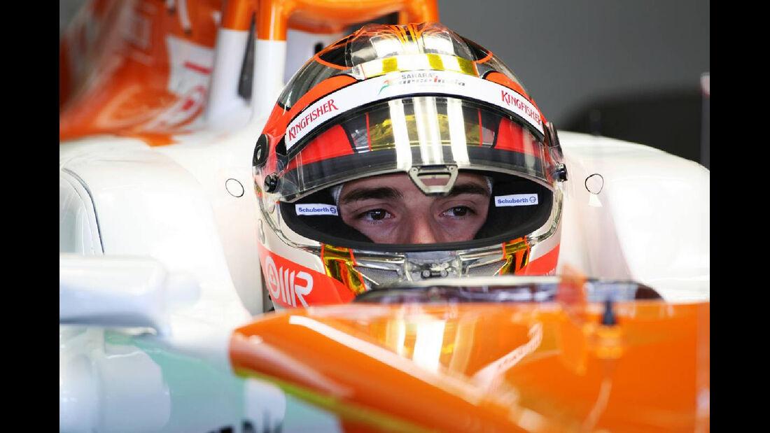 Jules Bianchi - Formel 1 - GP Deutschland - 20. Juli 2012