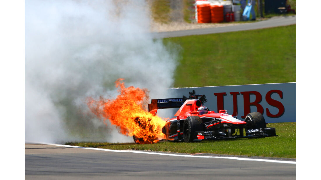 Jules Bianchi - Formel 1 - GP Deutschland 2013