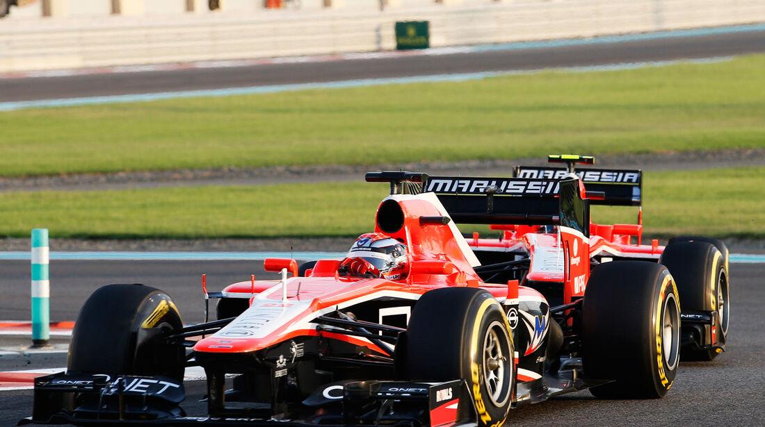 Jules Bianchi - GP Abu Dhabi 2013