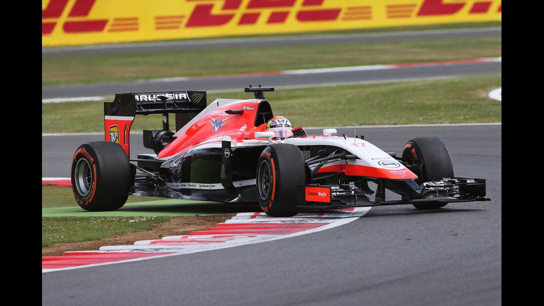 Jules Bianchi - GP England 2014