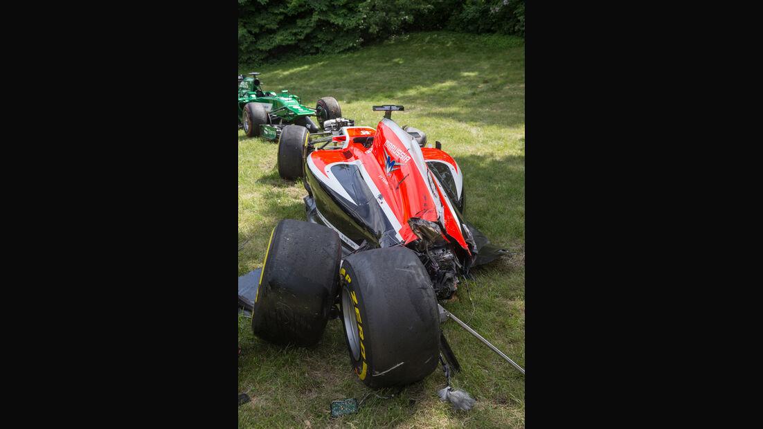 Jules Bianchi - GP Kanada - Crashs 2014