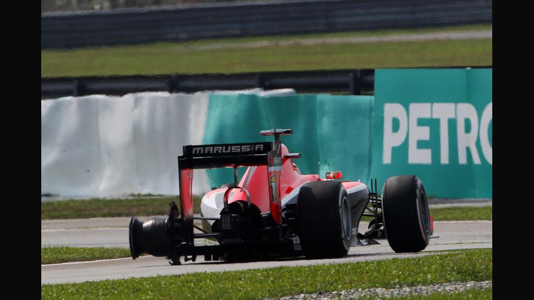 Jules Bianchi - GP Malaysia 2014