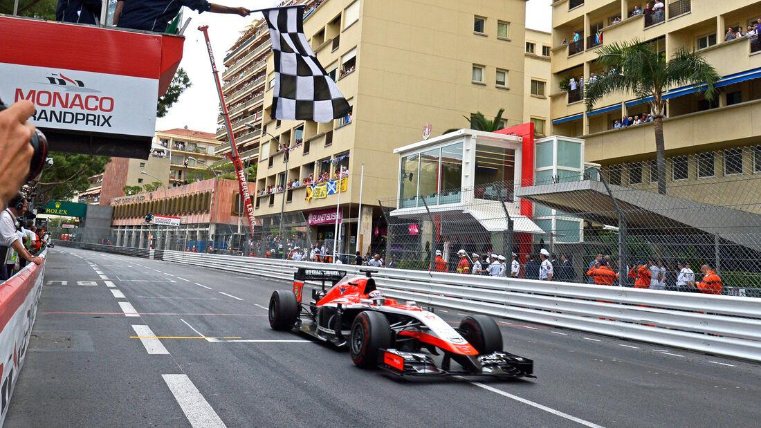 Jules Bianchi - GP Monaco 2014