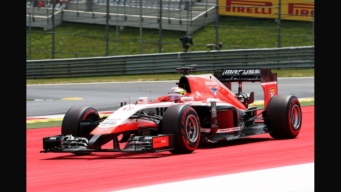 Jules Bianchi - GP Österreich 2014