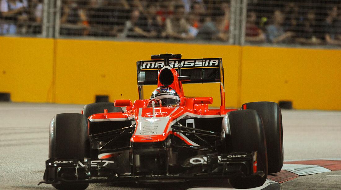 Jules Bianchi - GP Singapur 2013