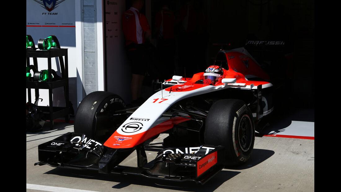 Jules Bianchi - GP Ungarn 2014