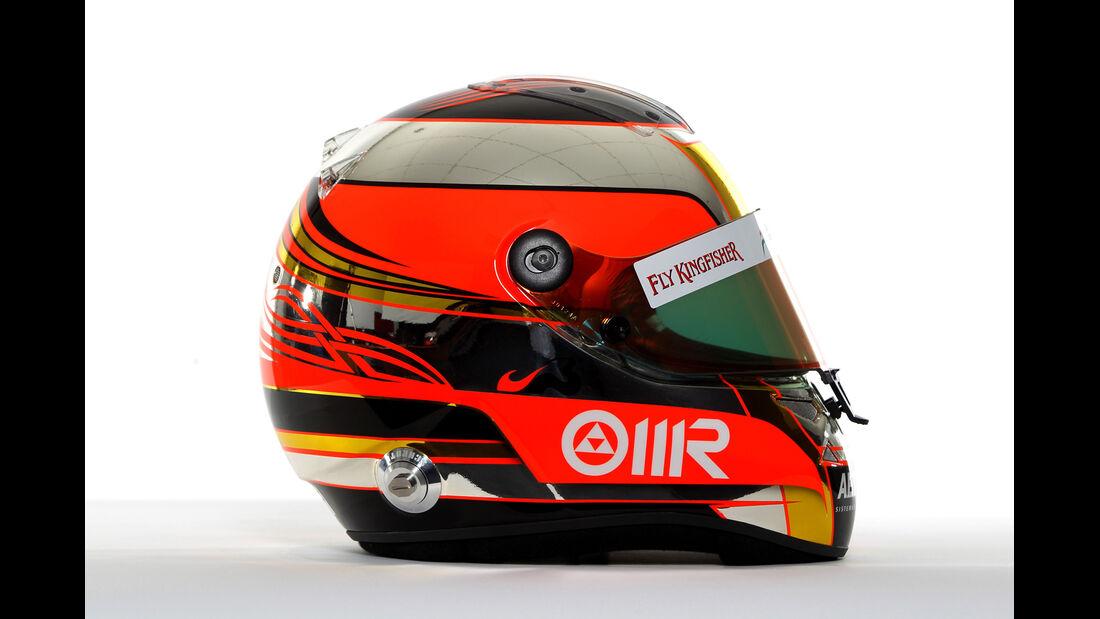 Jules Bianchi Helm 2012