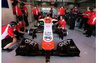 Jules Bianchi - Marussia - Barcelona - F1 Test 2 - 14. Mai 2014