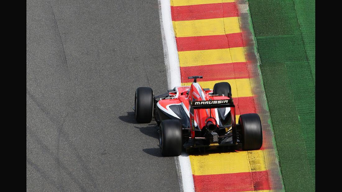Jules Bianchi - Marussia - Formel 1 - GP Belgien - Spa-Francorchamps - 22. August 2014