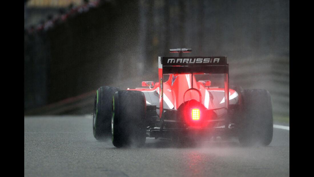 Jules Bianchi - Marussia - Formel 1 - GP China - Shanghai - 19. April 2014