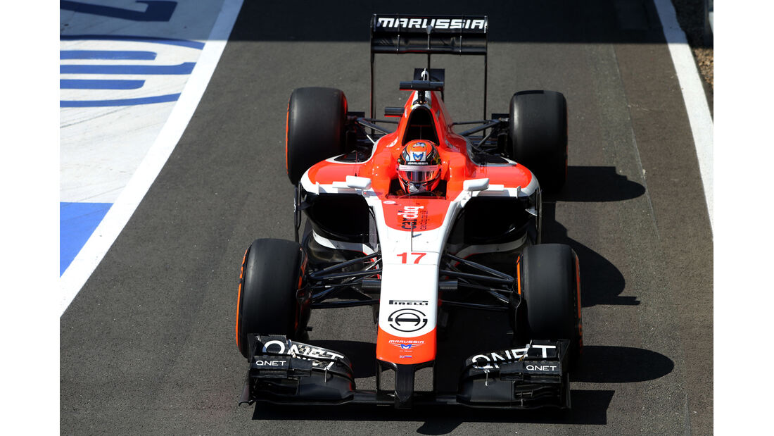 Jules Bianchi - Marussia - Formel 1 - GP England  - Silverstone - 4. Juli 2014