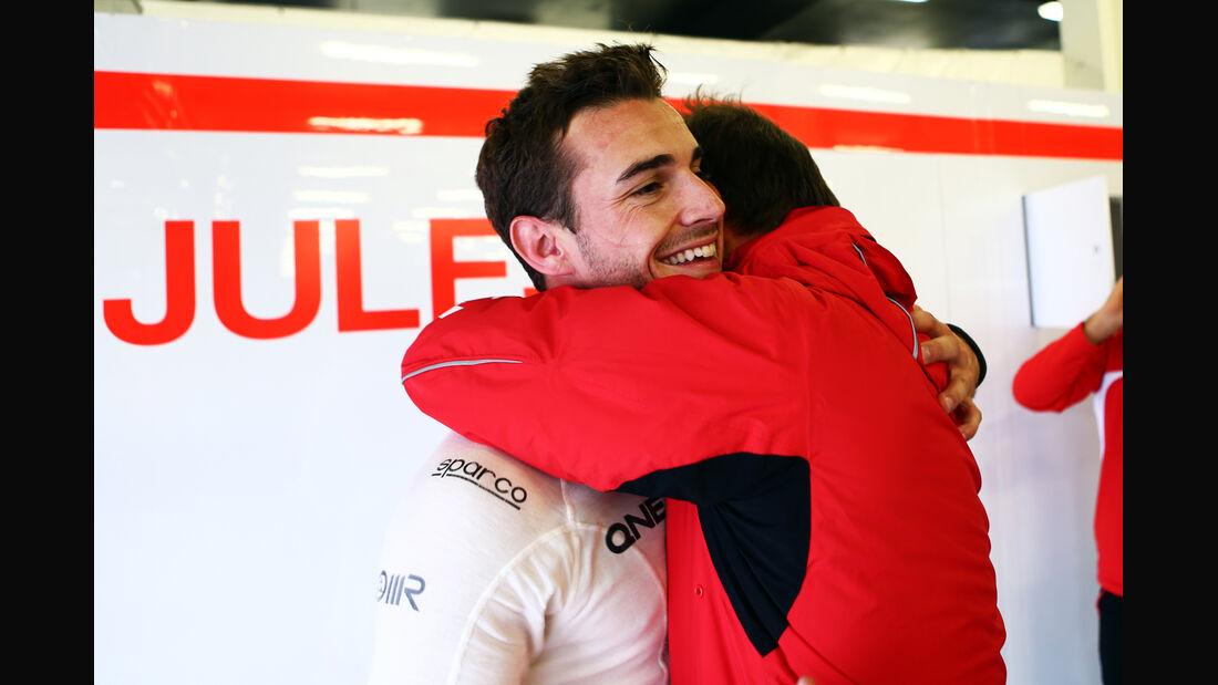 Jules Bianchi - Marussia - Formel 1 - GP England - Silverstone - 5. Juli 2014