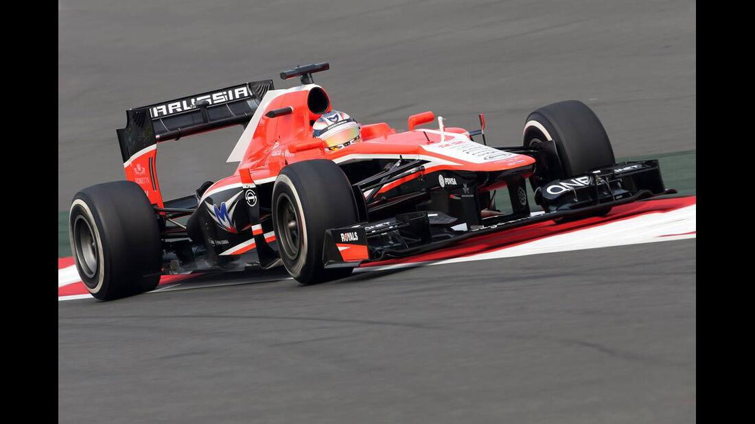 Jules Bianchi - Marussia  - Formel 1 - GP Indien - 25. Oktober 2013