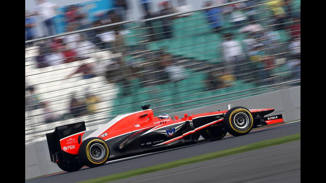 Jules Bianchi - Marussia - Formel 1 - GP Indien - 26. Oktober 2013
