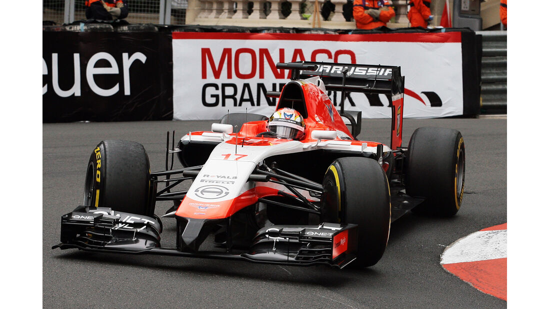Jules Bianchi - Marussia - Formel 1 - GP Monaco - 22. Mai 2014